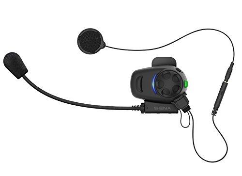 Sena SMH5-MC-01 SMH5 Multicom Bluetooth-Schnellklemmeinheit für Motorräder Headset und Sprechanlager - 5
