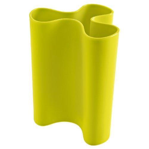 Clara Vase (Vase CLARA L solid senfgrün [W])