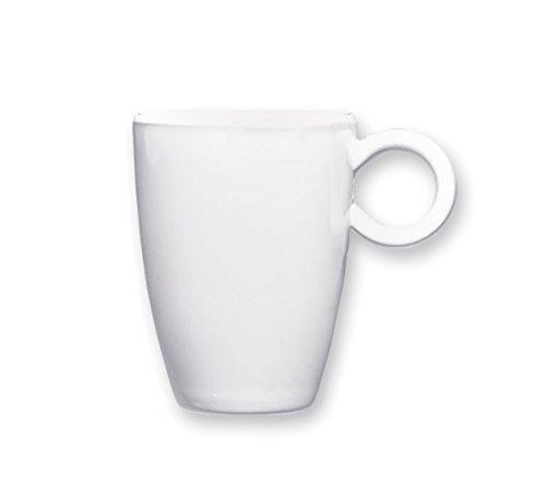 Q Squared Espresso Obertasse Espressotasse 50 ml Weiss 100% Melamin - 40050