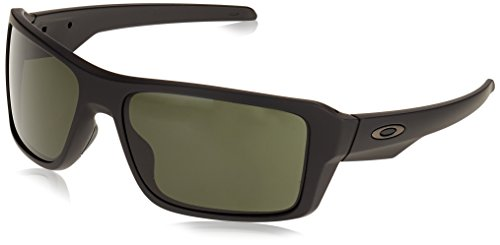 Oakley  Herren 0OO9380 Sonnenbrille, Grau (Matte Black), 66
