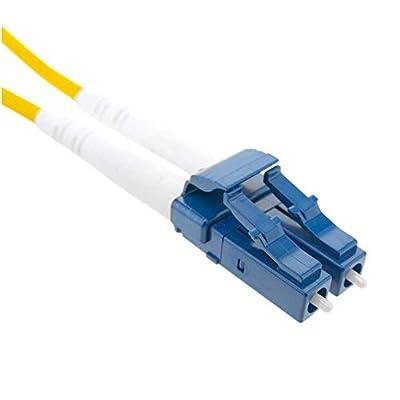 BeMatik - Câble à Fibre Optique LC à LC Duplex monomode 9/125 de 25 m OS2 par BeMatik.com