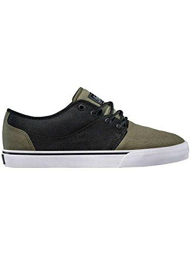Globe Mahalo GBMAHALO_C Unisex-Erwachsene Sneaker Black/Olive