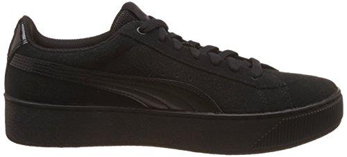 Puma Puma Vikky Platform, Sneakers basses femme Noir (Puma Black-puma Black 01)