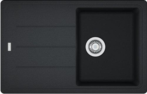 Franke Basis BFG 611 Onyx Granitspüle Schwarz Spülbecken Küchenspüle Spültisch