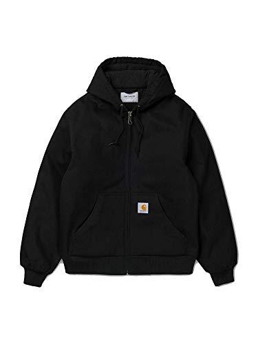 Quilt Flannel Lined Sandstone Active Jacket - Farbe: Black - Größe: L Carhartt Sandstone Active Jacket