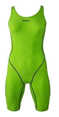 ZAOSU Wettkampf-Schwimmanzug Z-Green für Mädchen