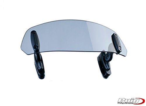 PUIG - 6375W : Visera Deflector Aire Multiregulable cupulas con Pinza 315X100MM