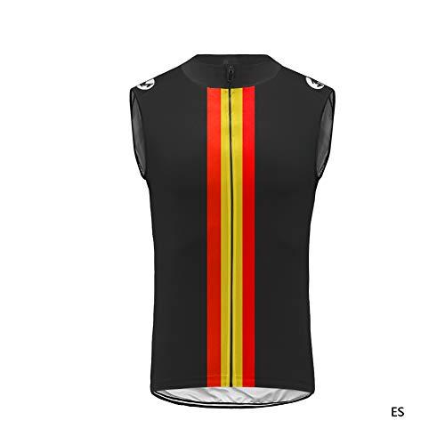 Uglyfrog Gilet Senza Maniche Maglia Ciclismo Uomo Breve,Maglietta Bicicleta,Camicie Ciclismo per Uomo Sport e Tempo Libero Abbigliamento Ciclismo Magliette HI2019VJT01