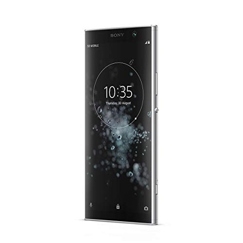 sony xa2 plus smartphone da 32 gb, argento, dual sim [italia]