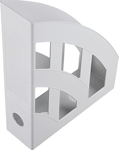 Helit Economy H2361082 Portariviste, formato A4-C4, in plastica, colore: grigio