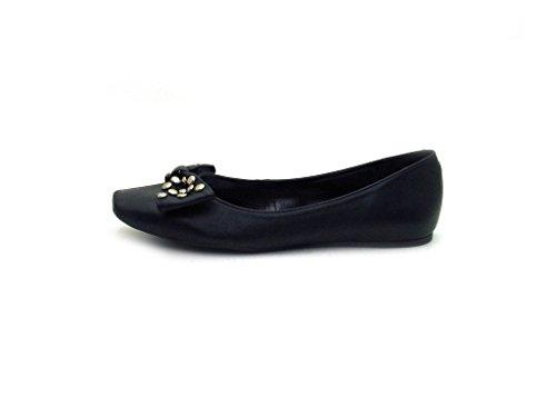 Via Uno - Ballerina - 10902206 Noir (noir)