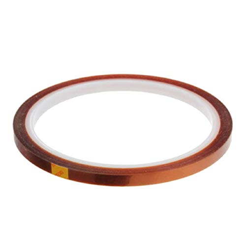 QIangpei Original 100FT Heat Resistant High Temperature Polyimide Band für Draht 5 10 20 50mm UK(None 3 20Mm * 33m9 .9 yuan/envelope)
