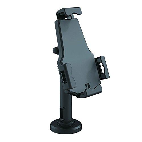 Pyle PSPADLK8 Diebstahlschutz Tablet Ständer Kiosk - Tischhalterung für Desktop-Tablet mit Schloss, Verstellbarer Klemmarm, internes Kabelführung, für iPad, Kindle, Samsung, Android Tablets Pyle 7