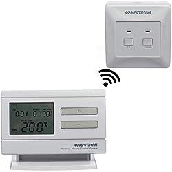 COMPUTHERM Q7RF Thermostat d'ambiance programmable connecté mobile pour radiateur, climatisation, chauffage au sol, régulateur de thermique sans fil