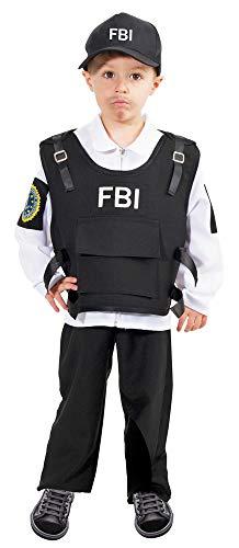 Fbi Agent Kostüm Herren - FBI Agent Kostüm Jimmy für Jungen