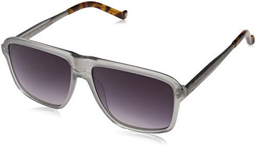 Hackett London Herren Hsb868 Sonnenbrille, Grau (Gris), 57