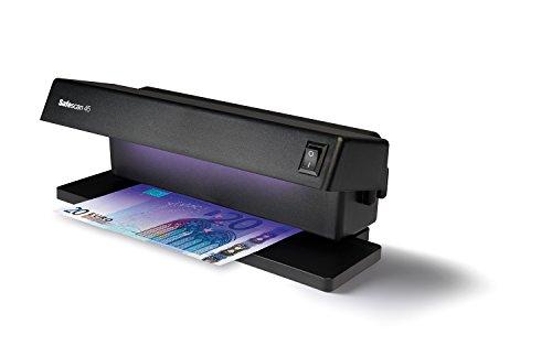 Safescan 45 - Detector de billetes falsos UV, 5.6 x 16 x 22 cm, color negro