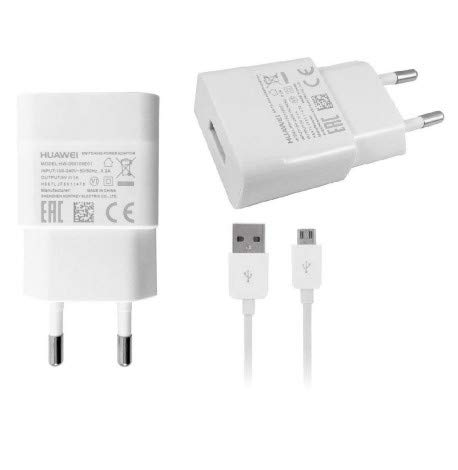 Original Travel Charger Cargador blanco Huawei HW-050100E01