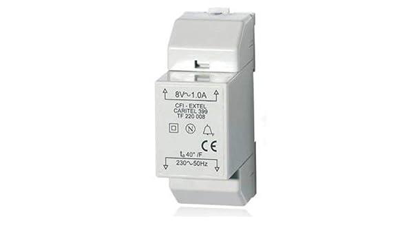 Extel WE 399 BIS Ser R1 Transformateur modulaire pour Carillon Filaire