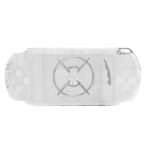Tonysa Spiel Shell Case Ersatzteile,Spiele Volle Gehäuse,Abdeckung Shell Protector für PSP 3000,Kompatibel mit starkem Schutzeffekt/hochwertigem PC Material/modischem Erscheinungsbild(Transparent) (Und Psp Abdeckungen Gehäuse)