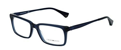 Emporio Armani Rectangular Sunglasses (Blue) (EA14BU53) image