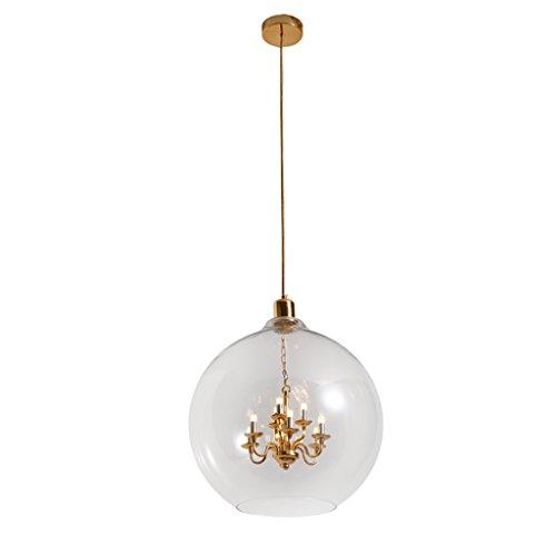 Modern Deckenlampe Moderne Kronleuchter Beleuchtung - Restaurant Kronleuchter Bar Kleidung Shop Designer Glaskugel Bar Pendelleuchte Balkon Schlafzimmer (größe : 30cm) (Retro-designer-kleidung)