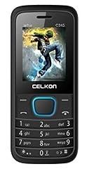 Celkon C345 Dual Sim 1.8 Inch Display Mobile Phone With 1.3 MP Camera Black & Blue