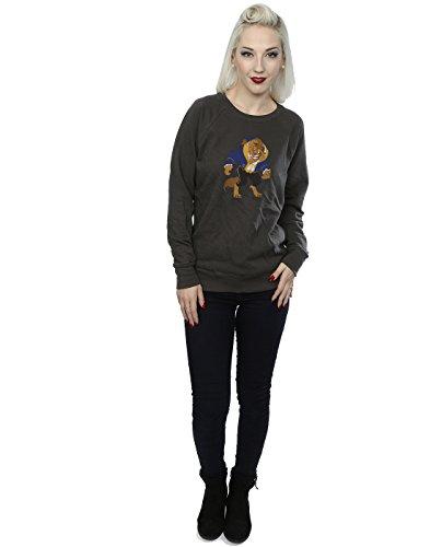 Disney Femme Classic Beast Sweat-Shirt Graphite Lumière