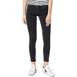 Lee Scarlett Jeans Vaqueros Skinny, Gris (Stone Grey Lcao), 27W/35L para Mujer