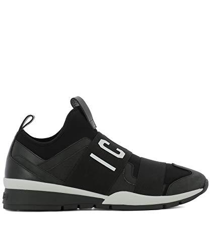 DSQUARED2 Herren Snm0022168010612124 Schwarz Leder Slip On Sneakers -