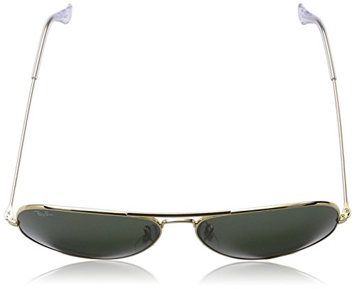 Ray-Ban - Lunette de Soleil RB3026 Aviator 2 Aviator 62 mm Arista/vert crystal