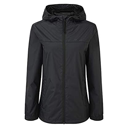 TOG 24 Craven Womens Zip Up Packable Lightweight Waterproof Jacket with Hood – windproof and breathable 1