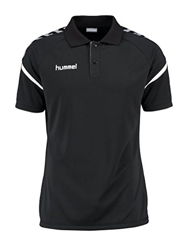 Hummel Auth. Charge Functional Polo - Black, Black, XL