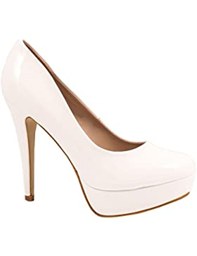 Elara Plateau Pumps | Moderne Damen High Heels | Stiletto Schuhe