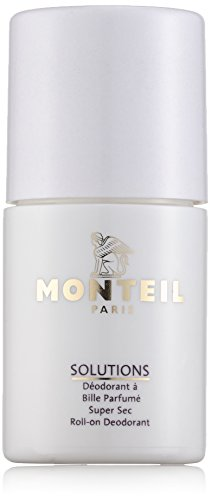 Monteil Solutions Corps Super Sec Roll-on Deodorant unisex, 50 ml, 1er Pack (1 x 0.16 kg)