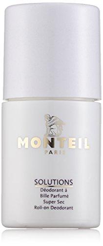 Monteil Solutions Corps Super Sec Roll-on Deodorant unisex, 50 ml, 1er Pack (1 x 0.16 kg) (Deodorant Alkoholfreie)