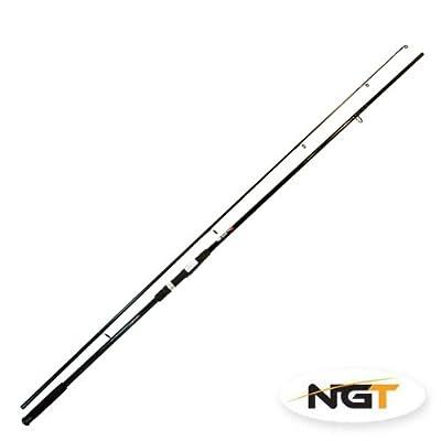 Carp Pike Fishing Rod - Black, 12ft, 2pc, 2.75lb