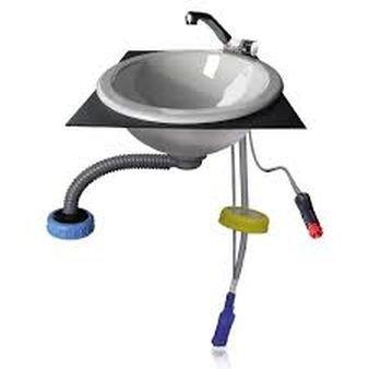 STABIELO - Camping Wasser-Set für Moducamp -VERTRIEB durch - Holly ® Produkte STABIELO ® - holly-sunshade ® - patentierte Innovationen im Bereich mobiler universeller Sonnenschutz - Made in Germany -