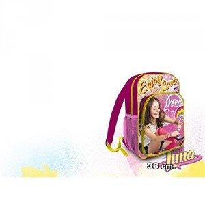 Mochila Soy Luna Enjoy Love doble bolsillo