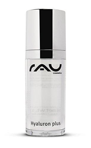 RAU Hyaluron Plus Gel 30 ml - Concentré acide hyaluronique anti-rides. Sérum raffermissant spécialisé anti-âge, notre top seller en matière de lutte contre le vieillissement de la peau. Effet immédiat! Liftez votre peau sans injections!