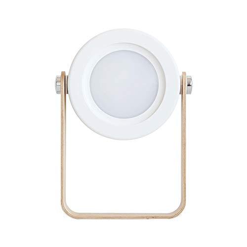 Creative Lantern Light Night Light Desktop Usb Mini Folding Office Bedside Lamp Outdoor Portable Table Lamp Modern Minimalist (white Warm Light)