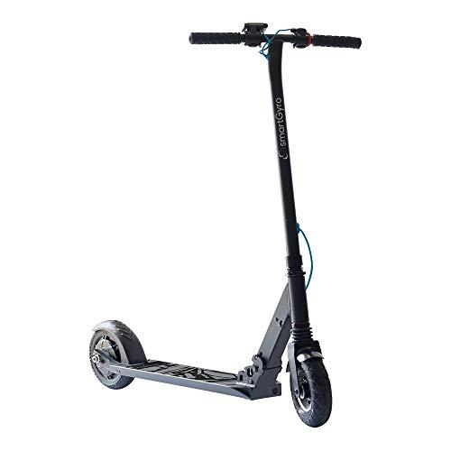 """SMARTGYRO Xtreme XD Black - Patinete Eléctrico, Ruedas 8\"""", 3 Velocidades, Plegable, Ligero, Velocidad 24 Km/h, Autonomía de 18 Km, Batería de Litio, Freno eléctrico, Scooter Eléctrico"""