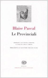 Le Provinciali. Testo francese a fronte