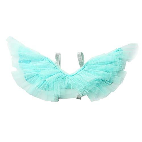 LDGHL Kleines Mädchen Flügel Engel Halloween Karneval Kostüm Party Leistungsrequisiten Rückendekoration (Green Mann Kostüm Für Verkauf)