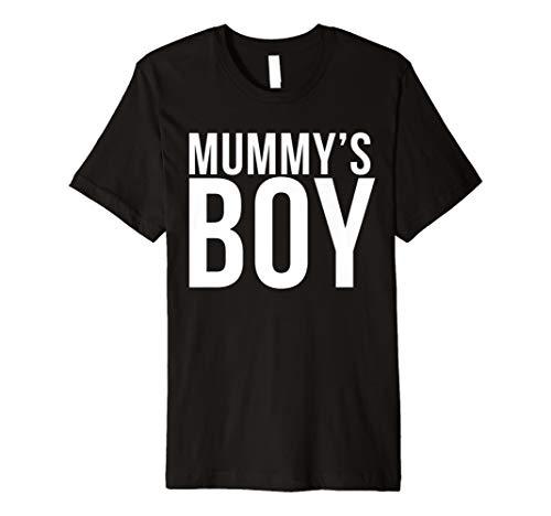 Funny Halloween T-Shirt Mummys Boy Shirt Kostüm T-Shirt
