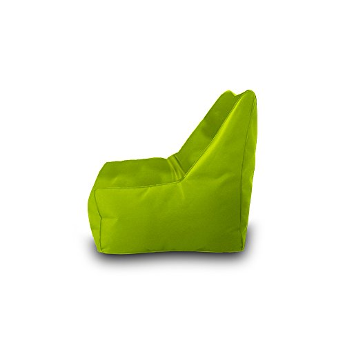 Bean Bag Beanbag Chair Polyester Waterproof 75 x 75 cm (Pistachio)