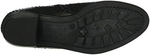 Caprice Damen 25317 Kurzschaft Stiefel Schwarz (BLACK REPTILE 10)