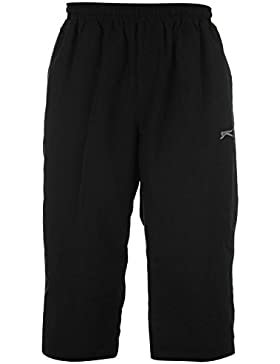Slazenger Herren Dreiviertel Hose 3/4 Sporthose Trainingshose Jogginghose Shorts