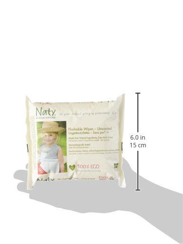 Naty by Nature Babycare Öko Feuchter Toilettentücher, 12er Pack (12 x 42 Stück) - 6