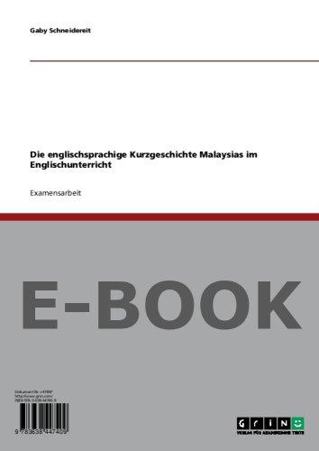 Die englischsprachige Kurzgeschichte Malaysias im Englischunterricht